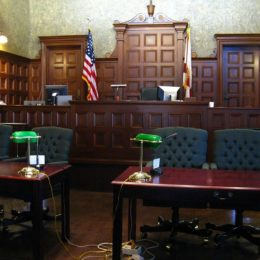 Courtroom - Clyde Robinson