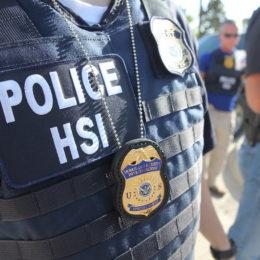 Police HSI - ICE